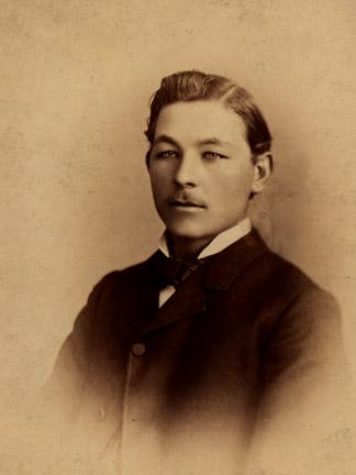 My grandfather, Alfred Benson